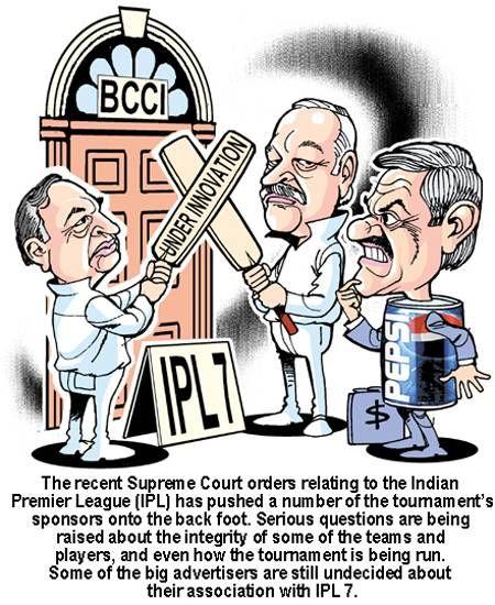 #IPL7 Under Innovation after Supreme Court orders.