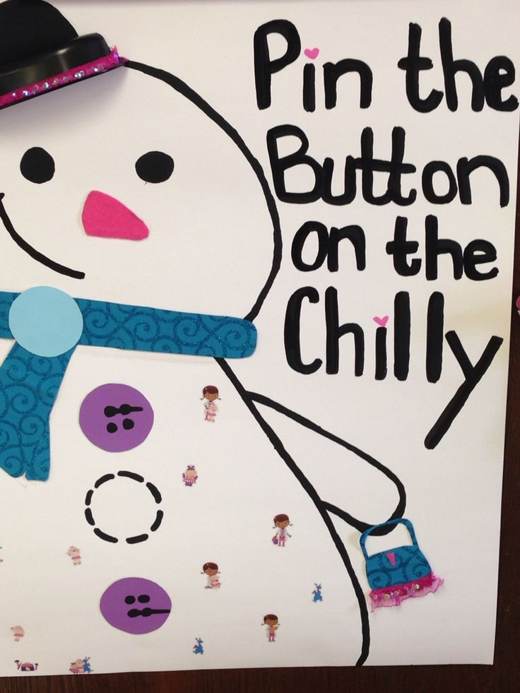 """Pin the button on """"chilly"""" Game for Doc mcstuffins party by uniquely gifted"""