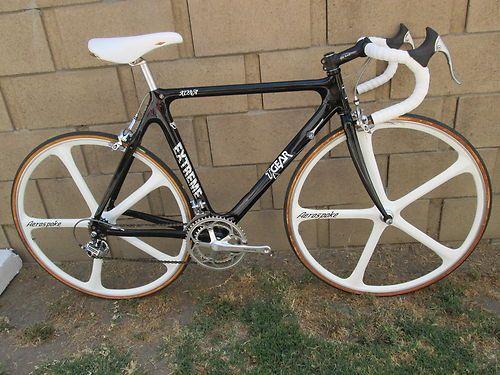 nos t gear kona carbon fiber road bike aerospoke dura ace