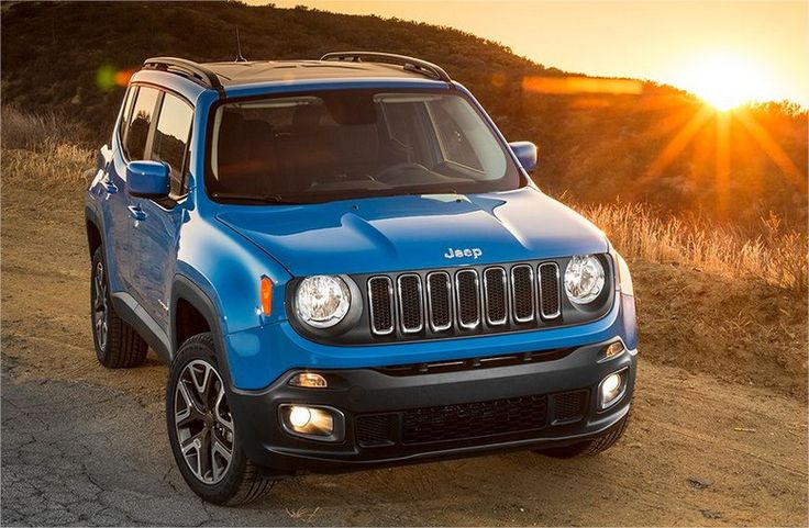 2016 jeep renegade sport. The base version in the new generation. To read full review and pricing visit http://www.americanindrive.com/2016-jeep-renegade-sport-latitude-limited-trailhawk/