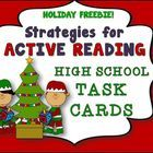 Active Reading Task Cards, 2 Printables, use one of them as a Classroom Poster! Use Task Cards for Differentiation!     You can...  Upload the cards' ...