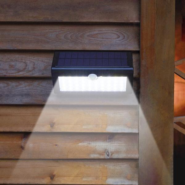 Super Solar Powered Motion Sensor Light Super Bright No Wiring Needed Easy Installations Solar Shed Light Motion Sensor Lights Security Lights