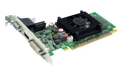 ﹩38.68. EVGA 01G-P3-1312-LR GeForce 210 PCIe 2.0 x16 1GB Graphics Video Card - NEW    Compatible Port/Slot - PCI Express 2.0, Chipset/GPU Chipset/GPU Manufacturer - NVIDIA, APIs - CUDA, Memory Type - DDR3, Connectors - DVI Output, Cooling Component(s) Included - Fan only, Brand - EVGA