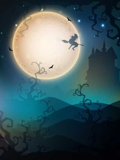 Halloween theme iPhone wallpaper background haunting #Halloween #backgrounds #holiday