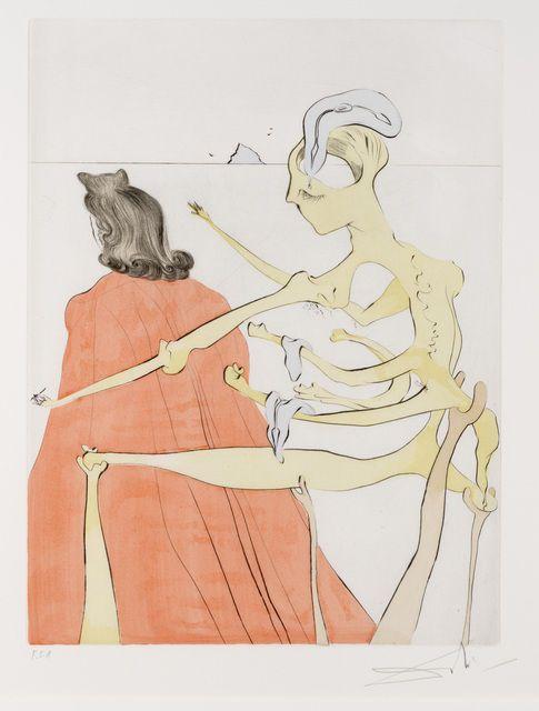 Salvador Dalí   Le Dos Divin de Gala from Apres 50 Ans du Surrealisme   Artsy