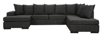 Chicago 3-sits soffa med schäslong och divan från MIO.