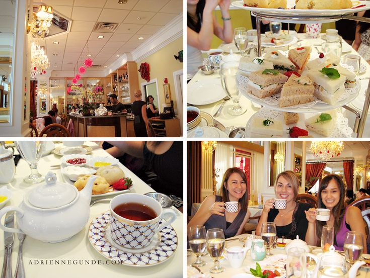 Scarlet Tea Room In Pasadena Fun Afternoon Outing For The