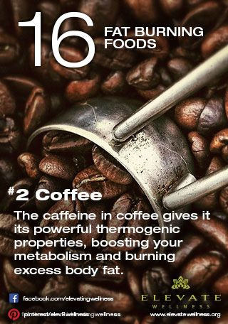 The caffeine in coffee gives it its powerful thermogenic properties, boosting your metabolism and burning excess body fat.