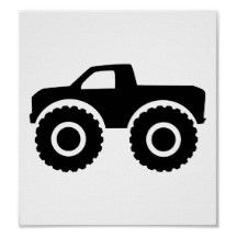 monster truck silhouette                                                                                                                                                      Mais
