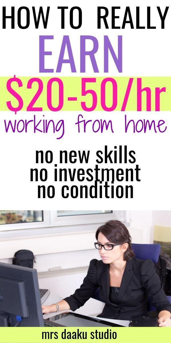 Legitime Arbeit von zu Hause aus – werde ein virtueller Assistent und verdiene …   – Freelance Writing tips | Side hustle ideas + make money online – Mrs Daaku Studio