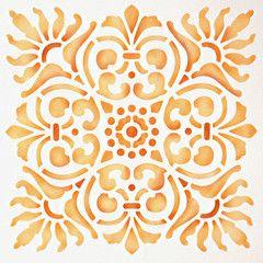 Sicilia Tile Stencil
