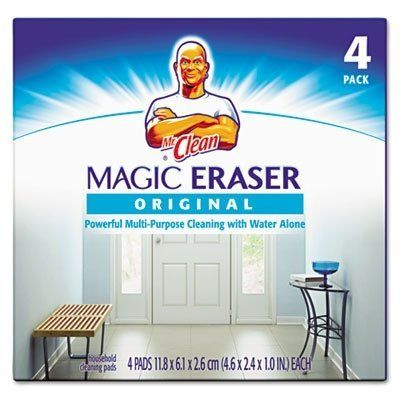 Disposable soft pads erase set-in dirt and grime quickly and easily. They remove scuff marks dirt and tough crayon marks from floors walls and doors. Safe to use no gloves or chemicals necessary.