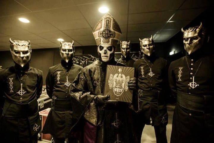 Ghost Hellfest 2016