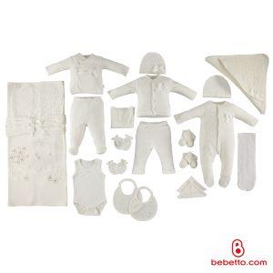 Bebetto - COTTON BABY NEWBORN SET 20 PCS (Pumpkin)
