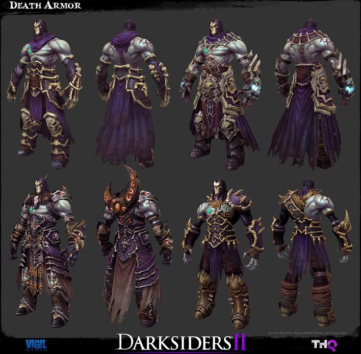 The Character Art of Darksiders II - Game Assets - Polycount Forum