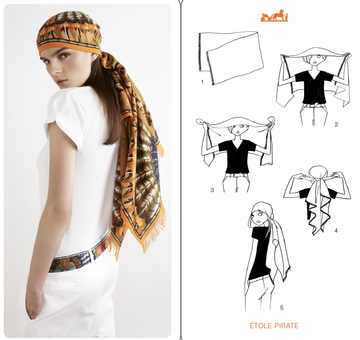 252 best scarf knotting women and men images on pinterest head rh pinterest com Latest Scarf Tying Coldwater Creek Scarf Tying