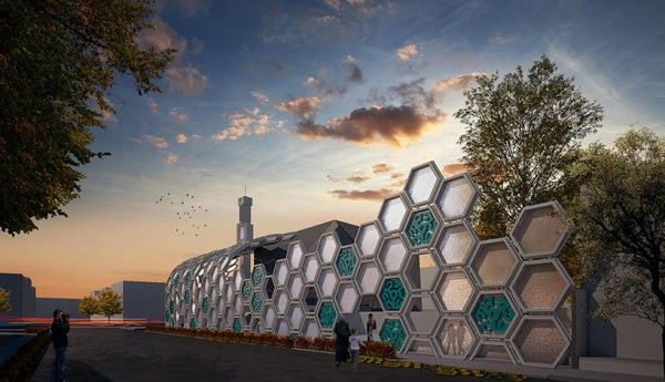 designMENA / Qods Mosque Renovation Concept / Arash G Tehrani