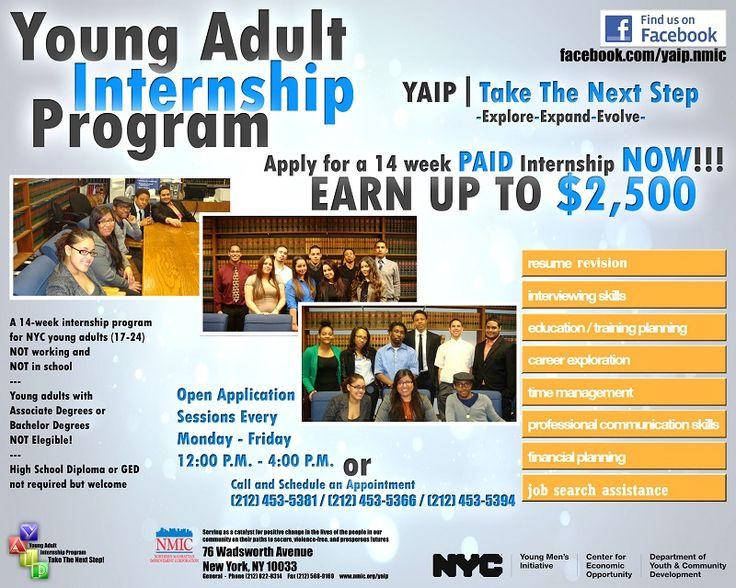 Flyer For Youth Career Exploration Internship Program Step Program