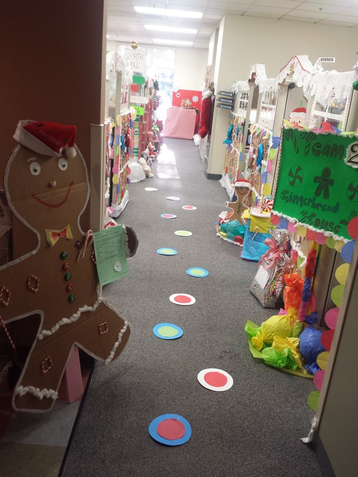 Cubicle Décor Ideas To Make Your Home Office Pop: Cubicles And Gingerbread On Pinterest