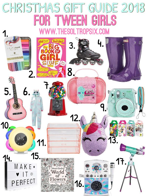 Ultimate Christmas Gift Guide For The Entire Family Tween Girl