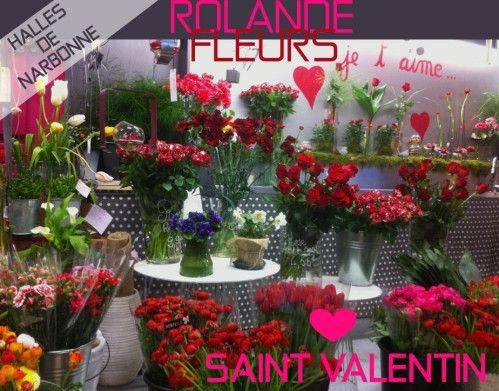 Saint Valentin collection de bouquets tendances, Rolande vous propose une large collection de bouquets de fleurs http://www.rolande-fleurs-halles-narbonne.com/article-jolis-bouquets-saint-valentin-aux-halles-de-narbonne-122425150.html