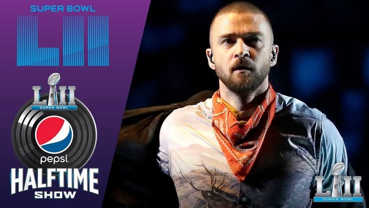 Justin Timberlake's FULL Pepsi Super Bowl LII Halftime Show! | NFL Highl... [Wish I could tell ya the Patriots won, love them anyway, can't win 'em all, congrats, Eagles!]