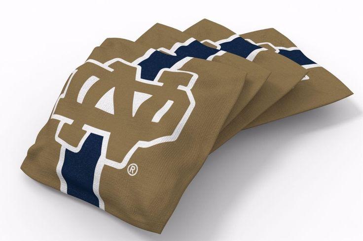 Notre Dame Fighting Irish Stripe Bean Bags-4pk (B)