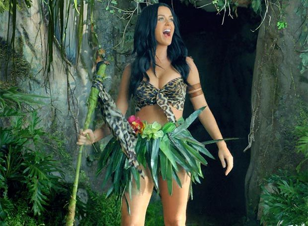 katy perry jungle girl video | Katy Perry Roars into action in new music video | The Sun |Showbiz