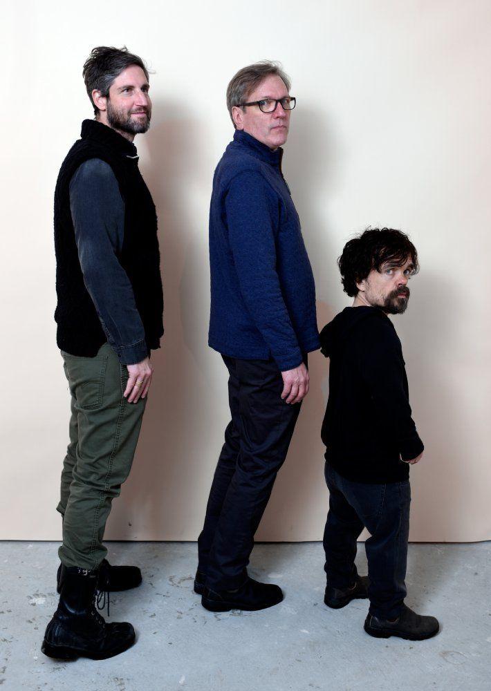 Mark Palansky, Martin Donovan and Peter Dinklage