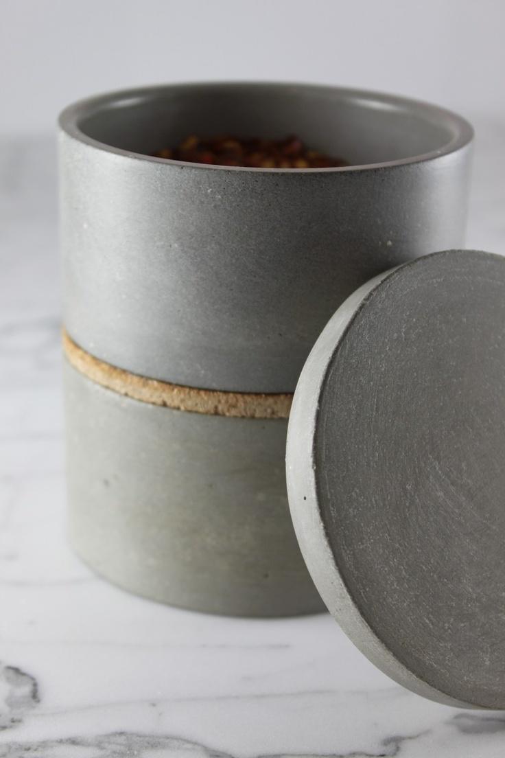 culinarium | stackable concrete bowls