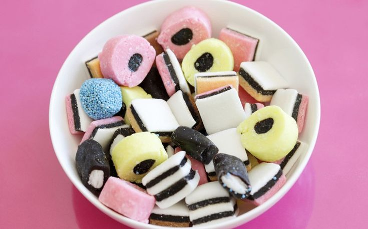 Another Bassett's creation, Liquorice Allsorts are said to have been invented in 1899 when salesman Charlie Thomson accidentally dropped a tray of samples he was showing a client. The client loved the mishmash of colours and shapes, and the sweets soon went into production. Bertie Bassett, the Allsorts' mascot, dates back to 1929.