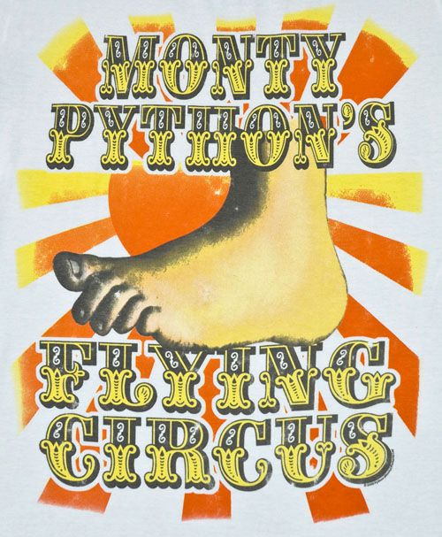 Childhood memories - a bit weird but I was into Monty Python at the tender age of 7 - lots of my primary school friends thought I was odd.