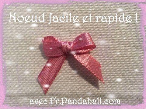 Tuto #14 Noeud Facile et rapide avec une fourchette - Fr.Pandahall.com - YouTube