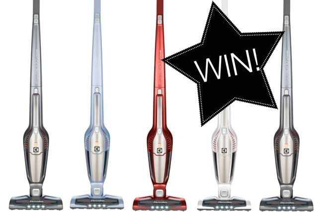 Win a new Electrolux Vaccuum (handheld plus electric broom) from The Style Insider!