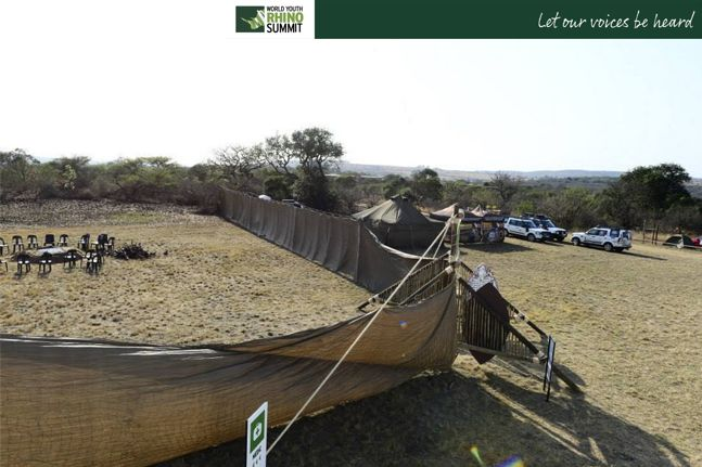 Wanna join us for a camp fire? #RhinoSummit2014 #rhino #wildlife #nature
