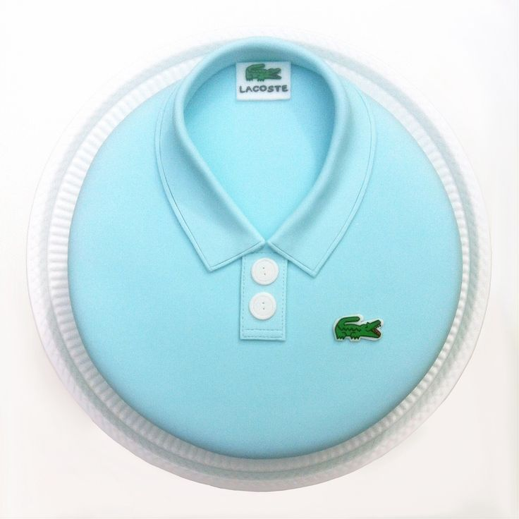 Lacoste novelty cake for a very special dad's birthday!