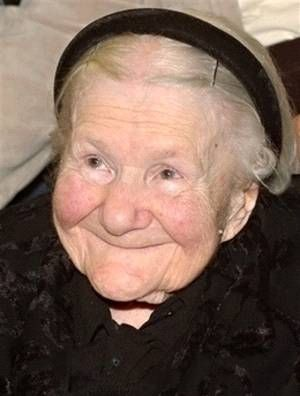 Irena Sendler. 1910-2008 A 98 year-old Polish woman named Irena Sendler recently died. During WWII, Irena worked in the Warsaw Ghetto as a plumbing/sewer specialist. Irena smuggled Jewish children out; infants in the bottom of the tool box she carried and older children in a burlap sack she carried in the back of her truck. She also had a dog in the back that she trained to bark when the Nazi soldiers let her in and out of the ghetto.: Burlap Sacks, Irena Sendler, Irenasendler, Tools Boxes, Warsaw Ghetto, Global Warm, Glasses Jars, Jewish Children, Kid