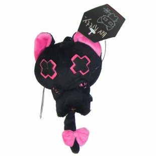 BABY VANITY Key Ring BLACK/PINK