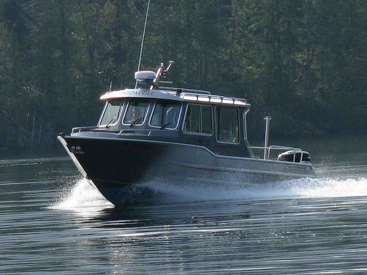 Wolf West Coast Cruiser for sale - 2007 Wolf made 24' aluminum West Coast cruiser. Transport Canada certified for 5 passengers and operator, Blue Decal compliant.   Priced to move