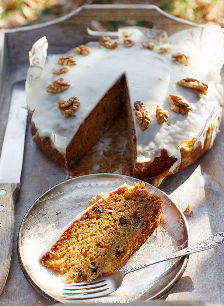 Miodowe ciasto marchewkowe | Kwestia Smaku