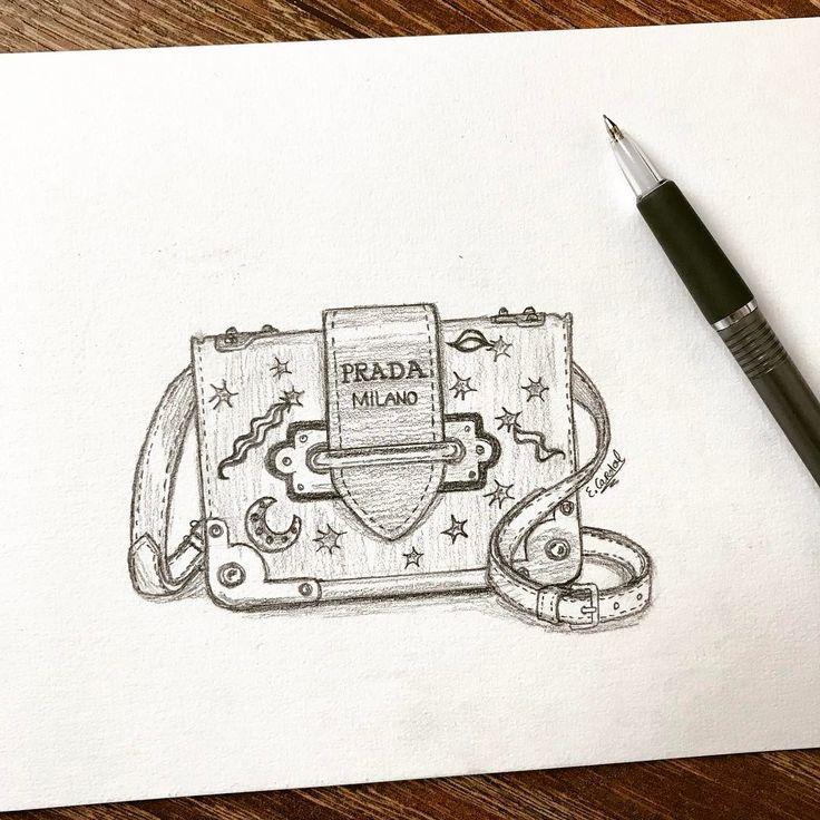 #fashionillustration #prada #designerbag