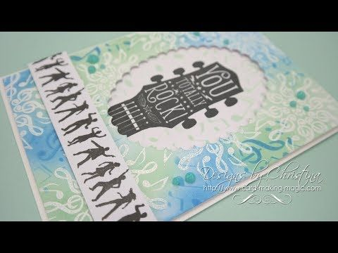 Flowers, Ribbons and Pearls: Creative Stamping 52 Music & Dance Collection