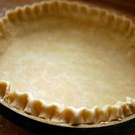 Gluten free easy pie crust recipe