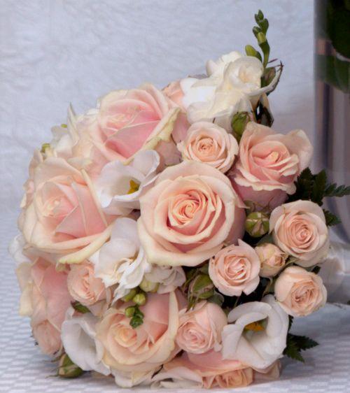 Sahara Sanders' wedding bouquet