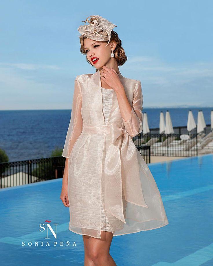 Vestidos de Fiesta, Vestidos de madrina, Vestidos para boda, Vestidos de Coctel 2016. Colección Primavera Verano Completa 2016. Sonia Peña - Ref. 1160109