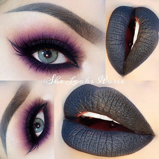 @she_looks_rosie creates a beautifully dramatic look.