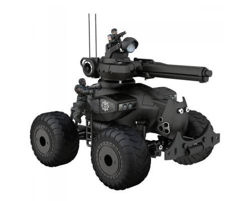 The Centaur is a battle and assault tank. It has a hood•mounted 360° rotating turret with a mobile cannon, 4 real•working large wheels and a mobile front tread #toys2learn #construction #meccano #earlylearning