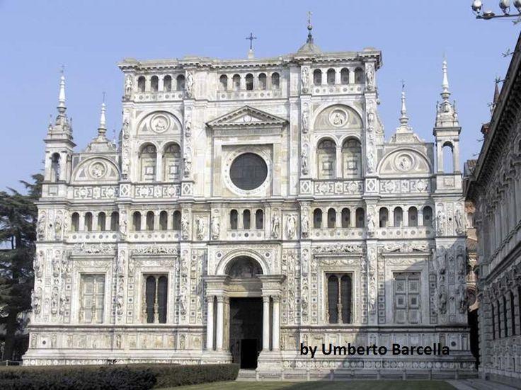 La Certosa di Pavia, Uno dei monumenti più famosi al mondo. A 9 Km da Pavia in direzione Milano.