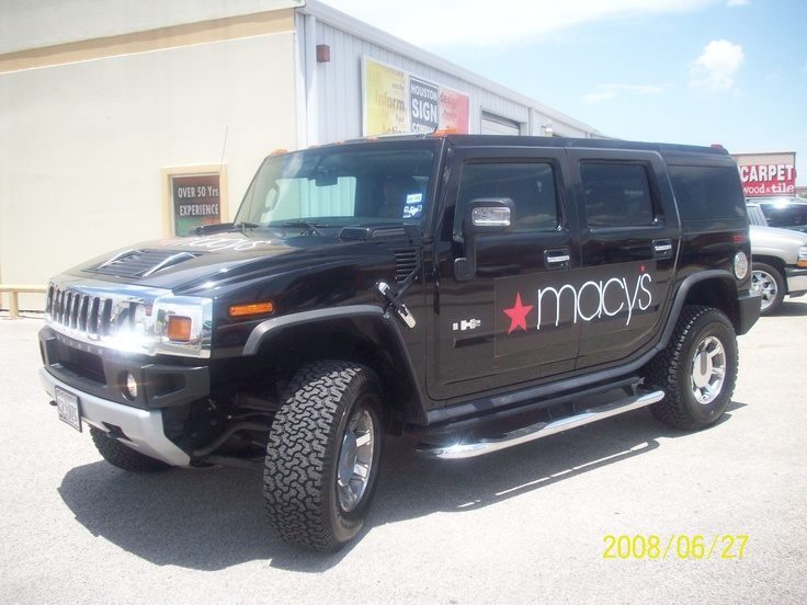 Best Vehicle Graphics Images On Pinterest Houston Sign - Vehicle decals for business application