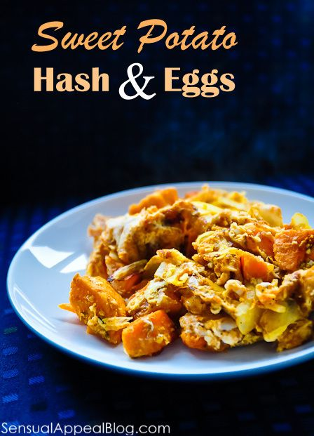 Sweet Potato hash with Eggs -- such a perfect breakfast for a great ...